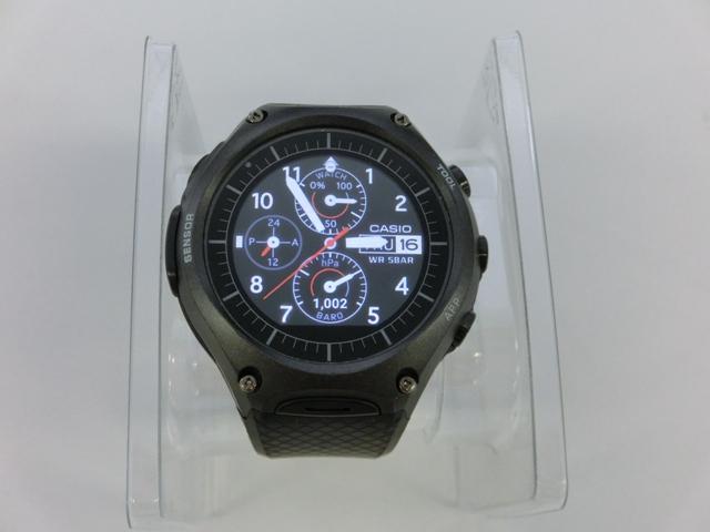カシオ「WSD-F10」/時計表示